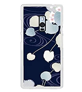 Fuson Designer Back Case Cover for OnePlus 2 :: OnePlus Two :: One Plus 2 (designed flower designer leaves beautiful flowers white)