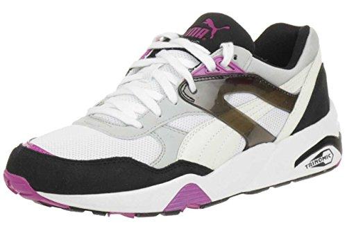 Puma Trinomic R698 Basic Sport women Sneaker Schuhe 358068 03 damen weiß / pink / grau