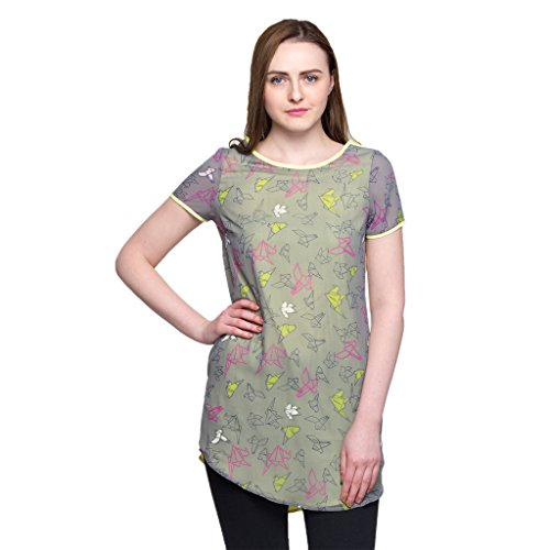 Oxolloxo Women's printed tunic  available at amazon for Rs.329