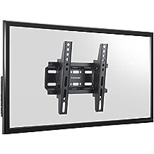 "Komodo Ultra Slim soporte de pared para televisor inclinable para Samsung LED/LCD/3d TV–14"" a 37""–VESA 75mm x 75mm/VESA 100mm x 100mm/VESA 200mm x 200mm"