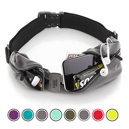 Cintura da Corsa iPhone X 6 7 8 Plus Sacchetto per corridori. Riflettente Marsupio Porta Telefono. Corsa Accessori per Uomini Donne