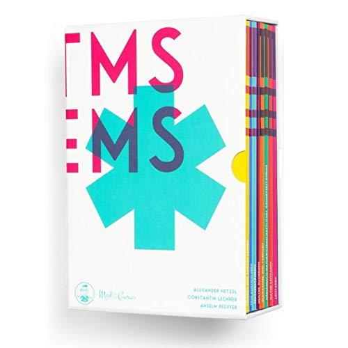 Medizinertest TMS / EMS 2020 I Kompendium zur Vorbereitung auf den Medizintest in Deutschland und der Schweiz I Vorbereitungs-Buchbox mit 9 Lehrbüchern I Inkl. Leitfaden, Übungsaufgaben und Lernplan