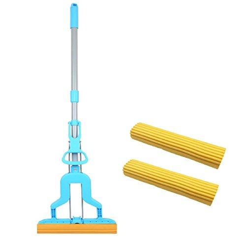 GAOJIAN Home Falten Squeeze Mop Wasser Microfaser Mop Kopf Material wird verwendet, um den Boden zu reinigen , d