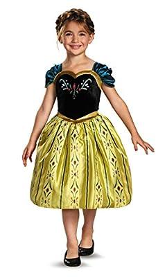 Disney Frozen Anna Coronation Gown Traje | 4-6x por Toy Zany