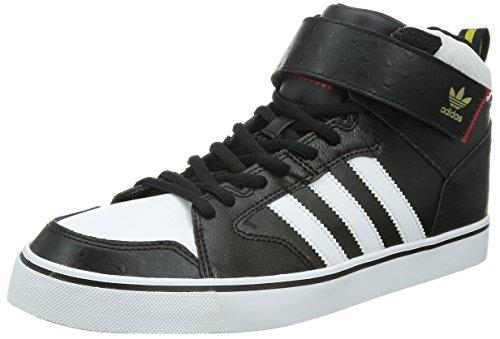 adidas Varial Mid C76961, Turnschuhe, Schwarz, 45 1/3 EU (Adidas Basketball Heels)