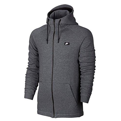 Nike Lightweight Pullover (Nike M NSW MODERN HOODIE FZ BB - Sweatshirt Grau - M - Herren)