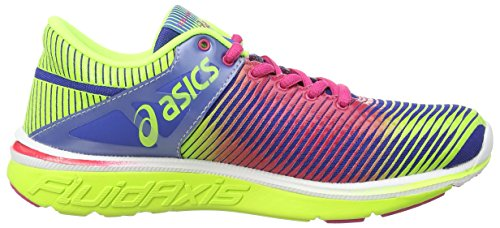 ASICS Gel-Super J33, Chaussures Multisport Outdoor Femmes Bleu (Blue/Hot Pink/Flash Yellow 4220)