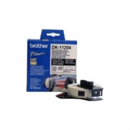 Brother dK-étiquettes 17 x 54 mm blanc vE = 400 pièces