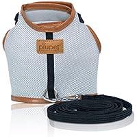 PiuPet - Premium Arnes para gato Collar seguro y robusto (M)