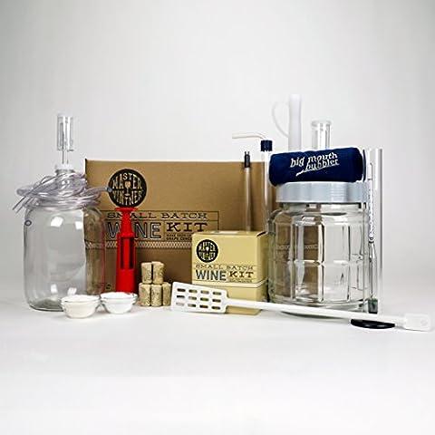 Master Vintner Small Batch Wine Making Equipment Starter Kit with 1 Gallon Chardonnay Recipe Kit by Master Vintner®