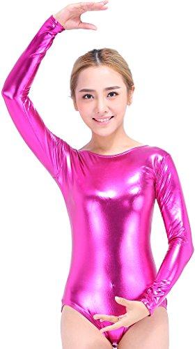 speerise-mujeres-manga-larga-brillante-metalico-lycra-spandex-maillot-de-gimnasia-mujer-color-plata-
