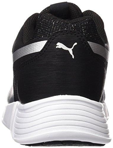 Puma Damen St Trainer Evo Gleam Sneakers Schwarz (puma black-puma silver 03)