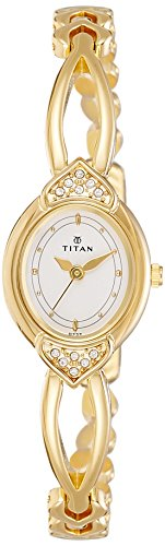 7. Titan Karishma Analog White Dial Women's Watch