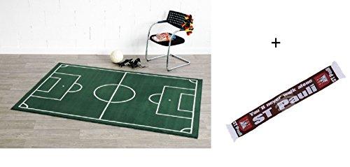 Football Rug Fussballteppich Football Pitch Pitch Football