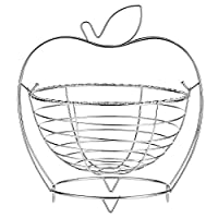 Harmony Fruit Basket Apple Shape Serving Baskets - 1 Pieces