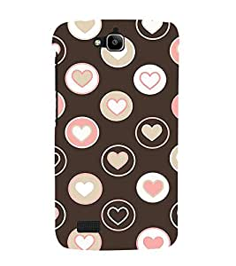 PrintVisa Designer Back Case Cover for Huawei Honor Holly (design nice Arrangement Creative modern)