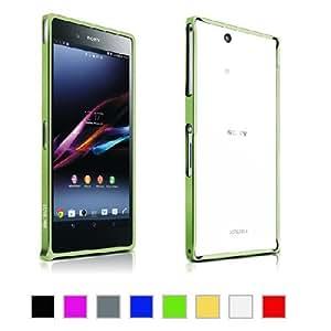 Mulbess Sony Xperia Z Ultra Blade Aluminium Premium Bumper Case (Green)