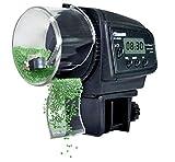 soundwinds Alimentatore Automatico di Pesce Alimentatore Automatico di Pesce Alimentatore Automatico di Pesce con distributore di Cibo e Display LCD per Acquario Fish Tank Turtle Tank