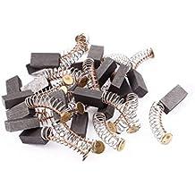 sourcingmap® 12mm x 6mm x 4mm Escobillas de carbón del motor 20 pcs para Motor