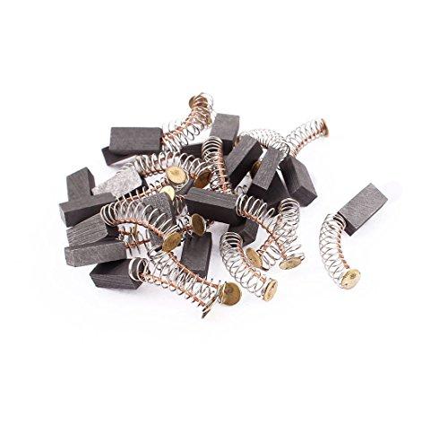 sourcingmap® 12mm x 6mm x 4mm Escobillas de carbón del motor 20 pcs para Motor Eléctrico genérico