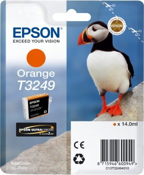 Epson T3249 Cartouche d'encre d'origine Orange