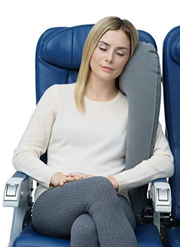 Travelrest Ultimate Travel Pillow - Ergonómico (2 años de garantía) (Gris)