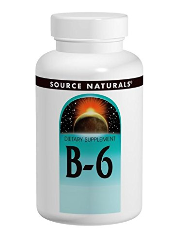 Source Naturals, Vitamin B-6 (stufenweise wirksam), 500mg, 100 Veg. Tabletten -