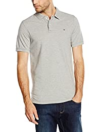 Tommy Jeans Hilfiger Denim Men's Original Flag Short Sleeve Polo Shirt