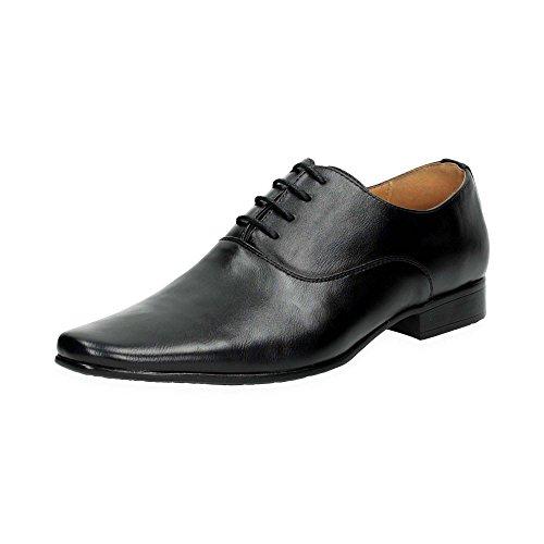 Herren Business Halb Schuhe | Elegante Schnür Schuhe zum Anzug | Office Schuhe im Casual-Look