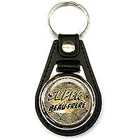 Porte clés homme, simili cuir noir, super beau-frère, famille, cadeaux, texte personnalisé, plaisir d'offrir