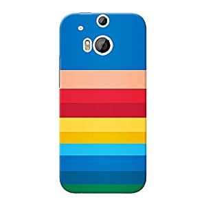 Inkif Printed Designer Case For Htc One (M8 Eye) Multi-Coloured