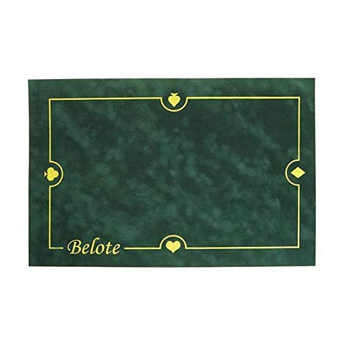 Tapis Belote CARTES PRODUCTION (60/40 cm) Vert