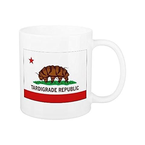 GESCHENKE für Mama Unique Funny Kaffeetassen Cute Bärtierchen Republik Flagge Frauen Tasse Keramiktasse Geschenk Awesome