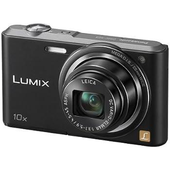 Panasonic Lumix DMC-SZ3EB-K Compact Digital Camera - Black (16.1MP, 10x Optical Zoom with Leica DC Lens, 25mm Wide Angle Lens, HD Video Recording) 2.7 inch LCD