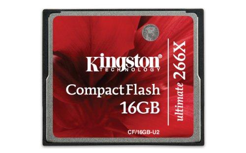 Kingston CF/16GB-U2 CompactFlash-Karte Ultimate 266x - 16 GB