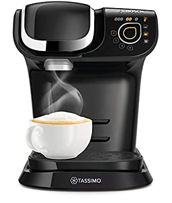 Bosch TAS6502GB My Way TASSIMO Coffee Machine, Plastic, 1300 milliliters