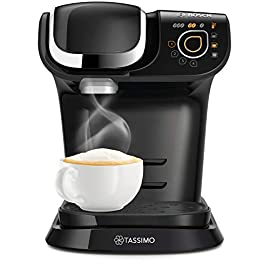 Bosch TASSIMO My Way 2 TAS6502GB Coffee Machine, 1300 W, 1.3 Litres, Black