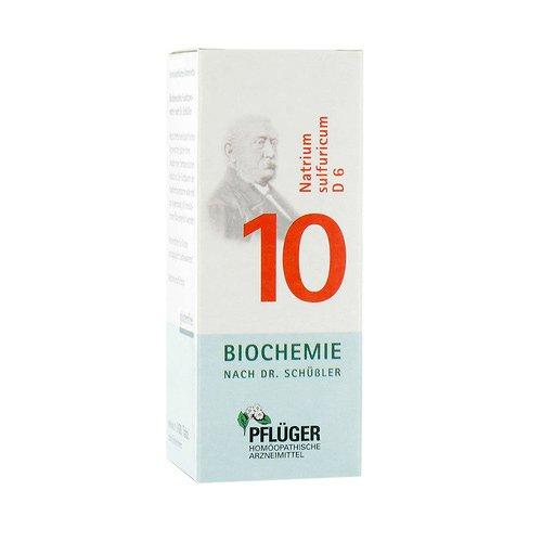 Biochemie Pflüger 10 Natrium Sulfur D 6 Tabletten 100 stk