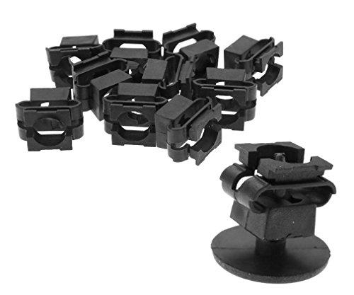 10pcs Clips Agrafe Rivets de fixation en platique Vis de couvercle du moteur Pour SKODA VW AUDI OEM 4A0805163
