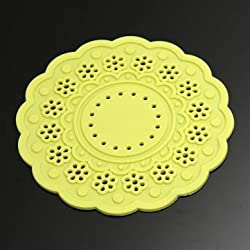 Lace Silicone Coaster Coffee Tea Cup Mat Insulated Heat Pad