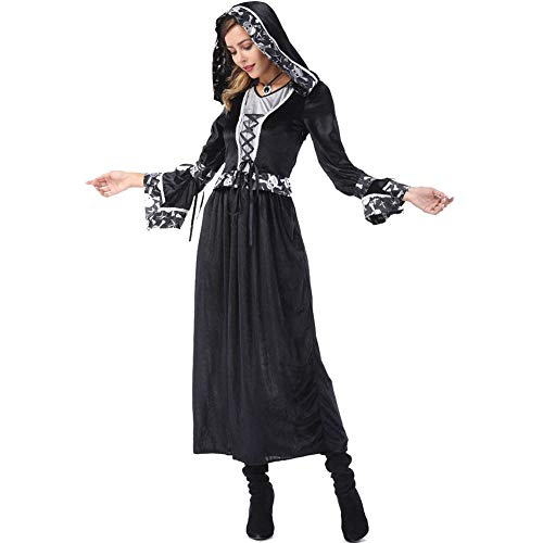 Geld Arabische Kostüm - Story of life Halloween Kostüm Erwachsene Paar Anzug Schädel Tod Gott Vampir Kleidung Gericht Kleid Arabischen Kostüm Männer Und Frauen Liebhaber,Women,M