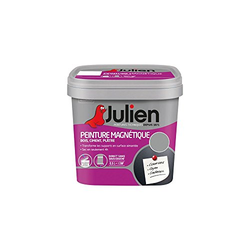 PINTURA magnética Julien–gris mate–500ml