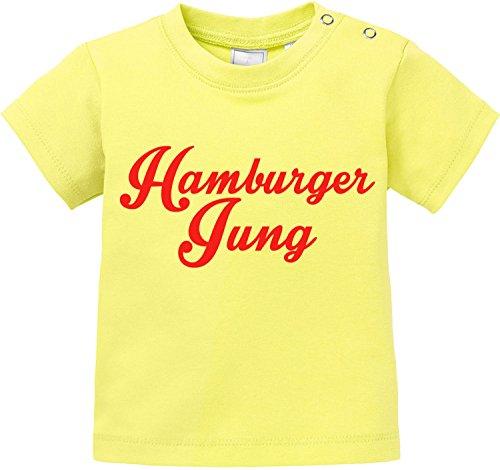 EZYshirt® Hamburger Jung Baby T-Shirt