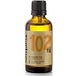 Aceite Esencial de Lavanda n. º 102 – 50ml - 100% puro, vegano y no OGM GMO
