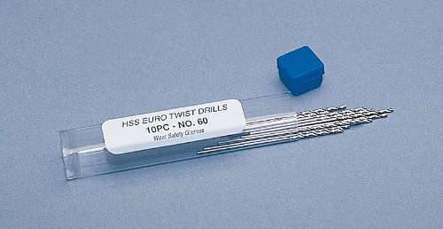 #74 Hss Euro Twist Drills - 10 Pack - DRL-226.74 by EuroTool