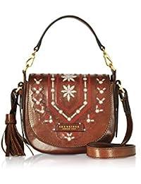 62508bbdfc4d The Bridge Women s 0412174R14 Brown Leather Shoulder Bag