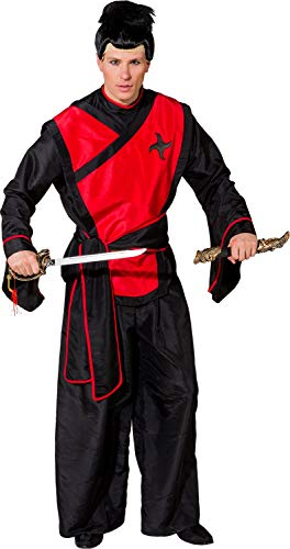 Fancy Me Herren Samurai Krieger Japanische Fighter National Dress Around The World Karneval Kostüm (National Fancy Dress Kostüm)