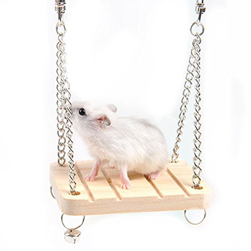 TREESTAR Balançoire Hamster Jouet Hamster Accessoires...