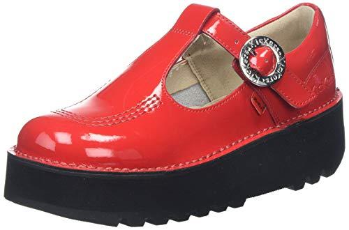 Kickers Kick Trixie, Merceditas Mujer, Rojo Red, 42