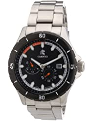 Carucci Watches Herren-Armbanduhr XL Analog Automatik Edelstahl CA2187ST-OR